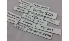 Tabliczki opisowe
