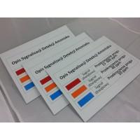 Tabliczki oznaczeniowe i opisowe