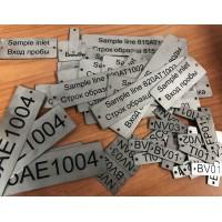 Tabliczki przemysłowe ze stali nierdzewnej