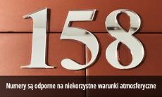 Numery na dom wys. 15 cm