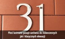 Numery na dom wys. 30 cm