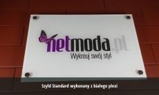 Szyldy STANDARD 60x40 cm