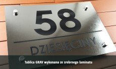 Tablice na dom GRAV 40x30 cm