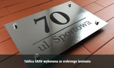 Tablice na dom GRAV 20x15 cm