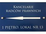 Szyldy GRAV 60x30 cm