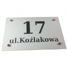Tablice na dom GRAV 30x20 cm
