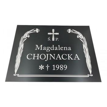 Tablice nagrobne prostokątne 30x20 cm
