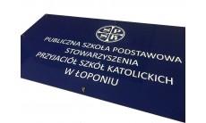 Szyldy TUBOND 60x40 cm